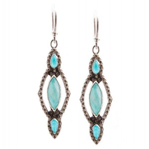 Armenta New World Moonstone Earring