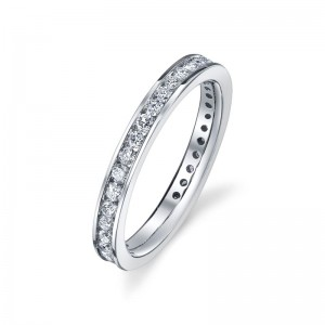Deutsch Signature Channel Set Eternity Band