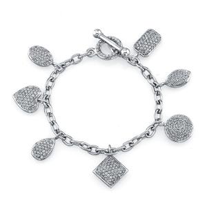 Norman Silverman Charm Bracelet