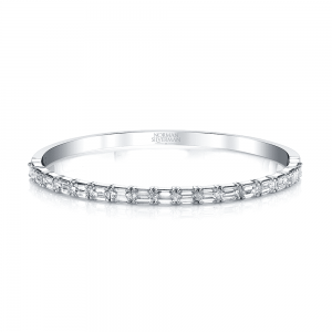 Norman Silverman Emerald Diamond Bracelet