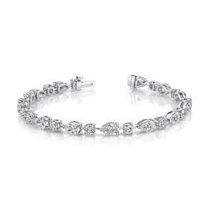 Norman Silverman Fancy Diamond Bracelet