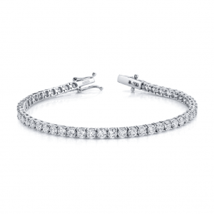 Norman Silverman Diamond Tennis Bracelet