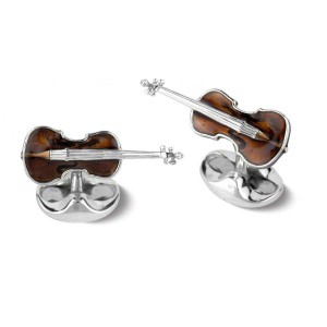 Deakin & Francis Violin Cufflinks