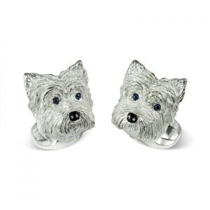 Deakin & Francis West Highland Terrier Dog Cufflinks