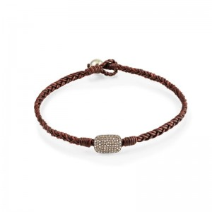 Vincent Peach Almaz Double Wrap Bracelet