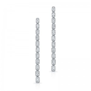 Norman Silverman Long Drop Earring