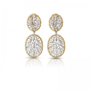 Buccellati Ramage Short Pendant Earrings