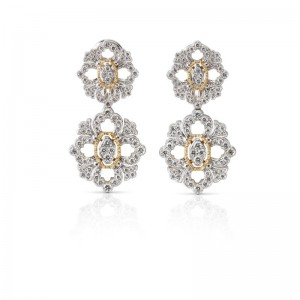 Buccellati Opera Pendant Earrings