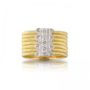 Buccellati Hawaii Band Ring