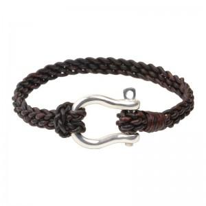Vincent Peach Shackle Bracelet