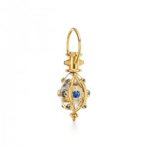 Temple St. Clair 18K Evil Eyelash Amulet