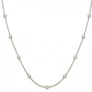 Chain Pearl Pendant 18