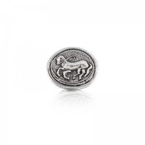 Vincent Peach Trojan Coin Ring