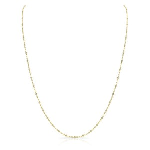 Norman Silverman Diamond By The Yard Necklace