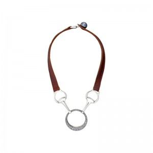 Vincent Peach Le Laura Necklace