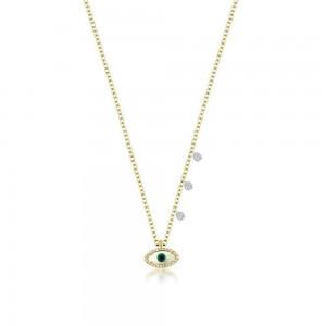 Meira T Evil Eye Dainty Necklace