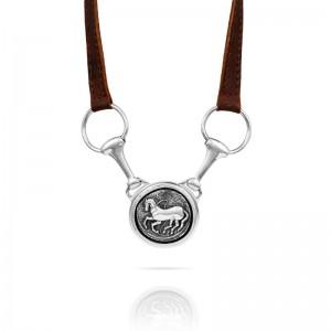 Vincent Peach Trojan Arena Necklace