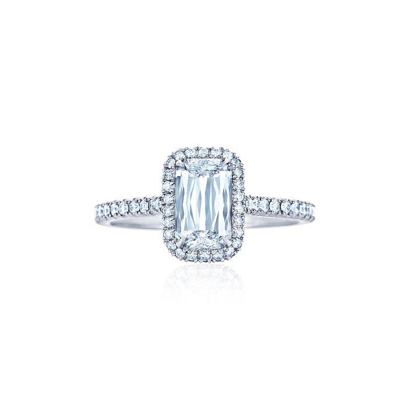 Kwiat Setting Ashoka Diamond Engagement Ring