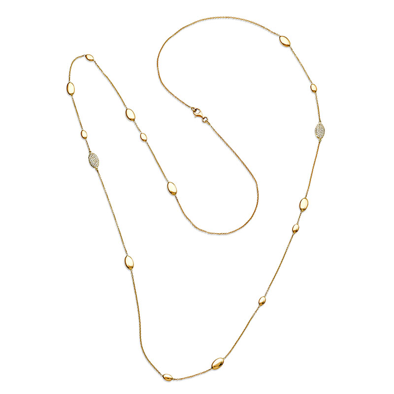 Rudolf Friedmann Gold Diamond Accent Necklace