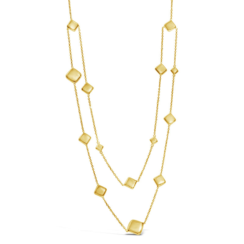 Rudolf Friedmann Gold Multi Layer Necklace