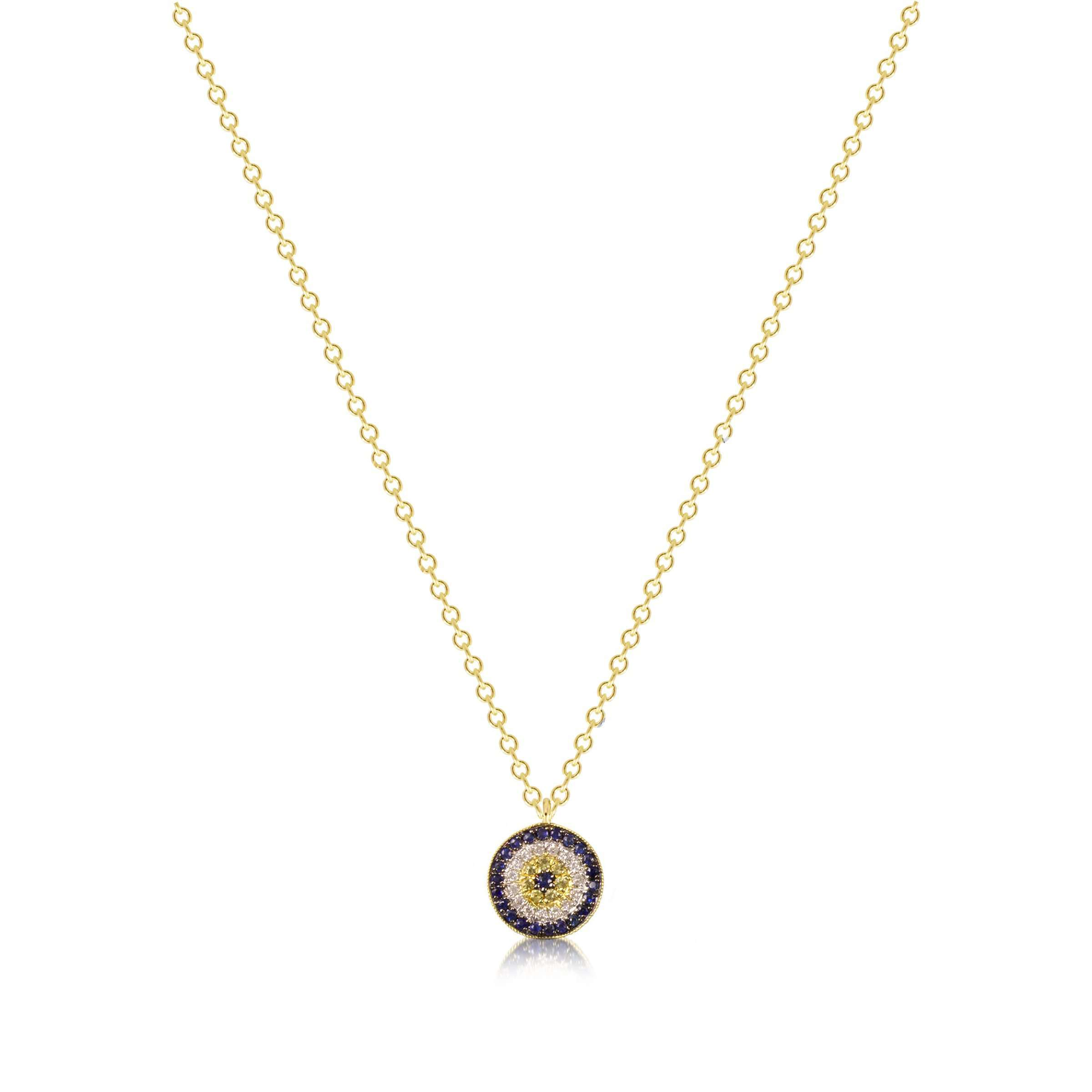 Meira T Classic Evil Eye Necklace
