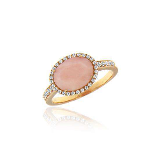 Meira T Pink Opal Ring