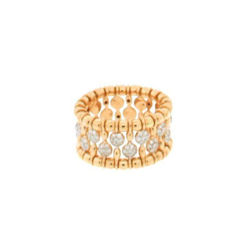 Hulchi Belluni Tresore Ring, 18K Yellow Gold