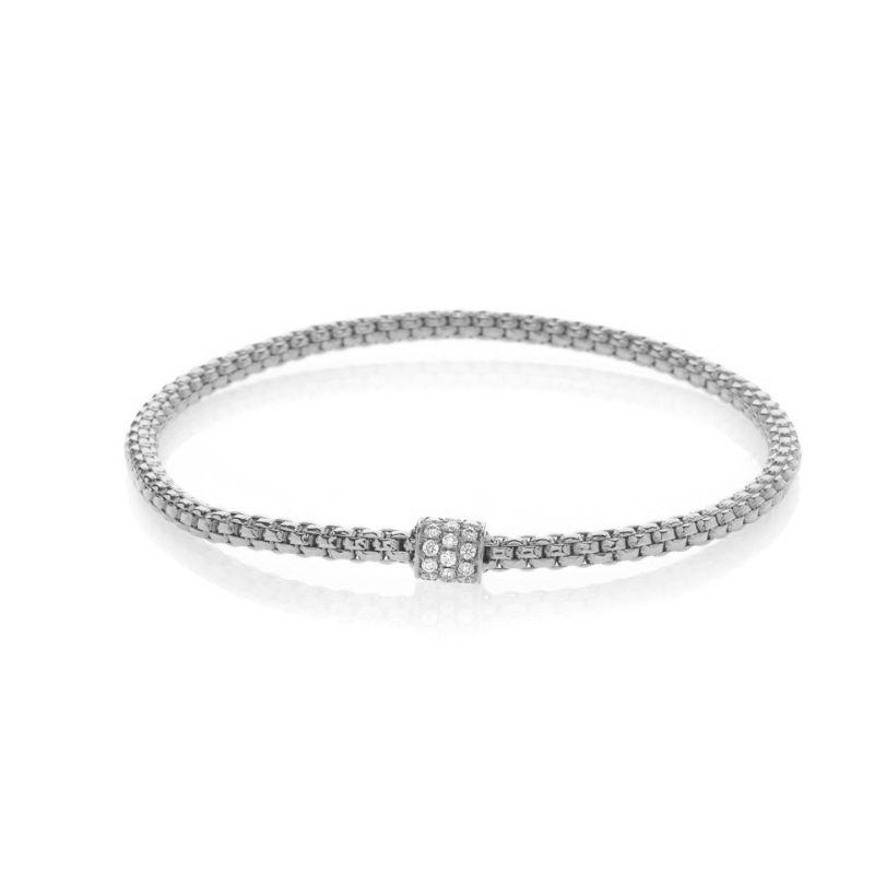 Hulchi Belluni Tresore Bracelet, 18K White Gold