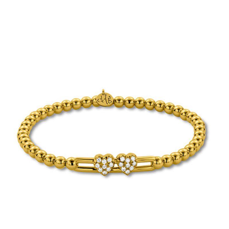 Hulchi Belluni Tresore Bracelet, 18K Yellow Gold