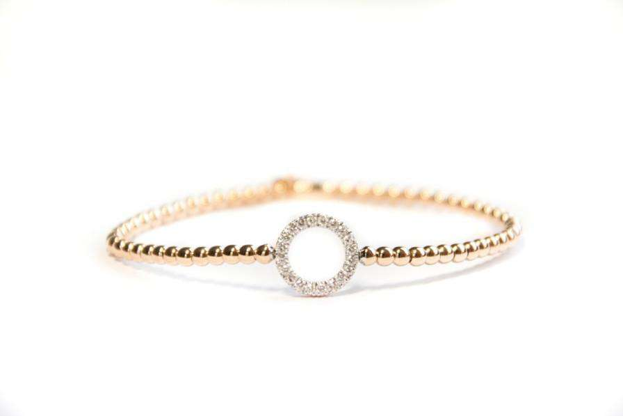 Hulchi Belluni Open Circle Stretch Bracelet