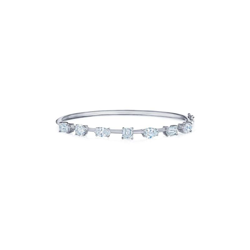 Kwiat Starry Night Mixed Shape Diamond Bangle
