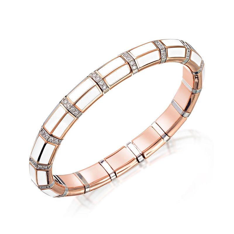 Xpandable™ White Ceramic Bracelet