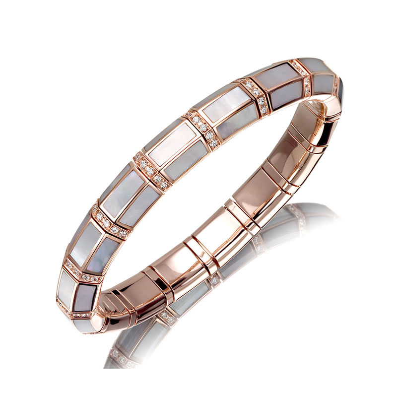 Xpandable™ Rose Gold Mother of Pearl Bracelet