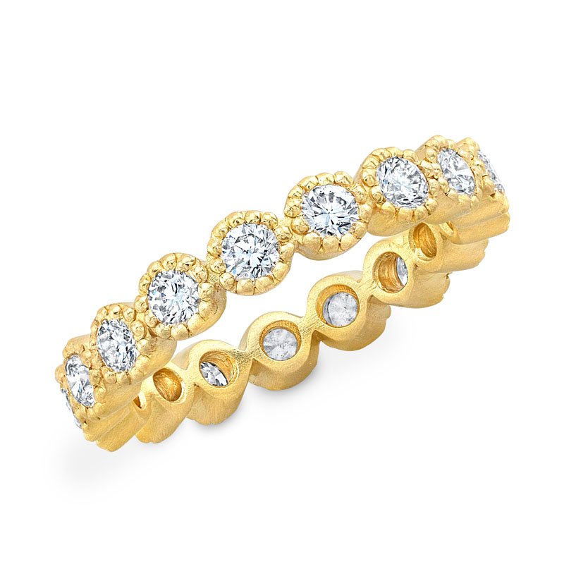 Norman Silverman Diamond Eternity Ring