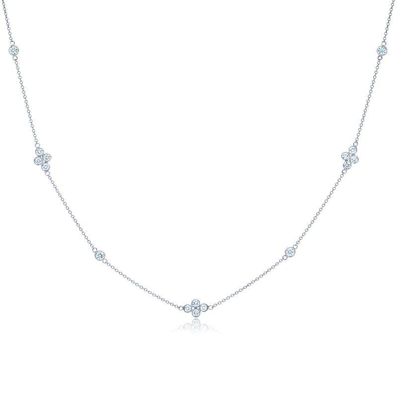 Kwiat Chain Diamond Strings Diamond Necklace