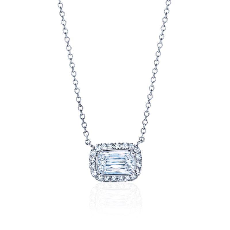 Kwiat Silhouette Diamond Pendant Necklace