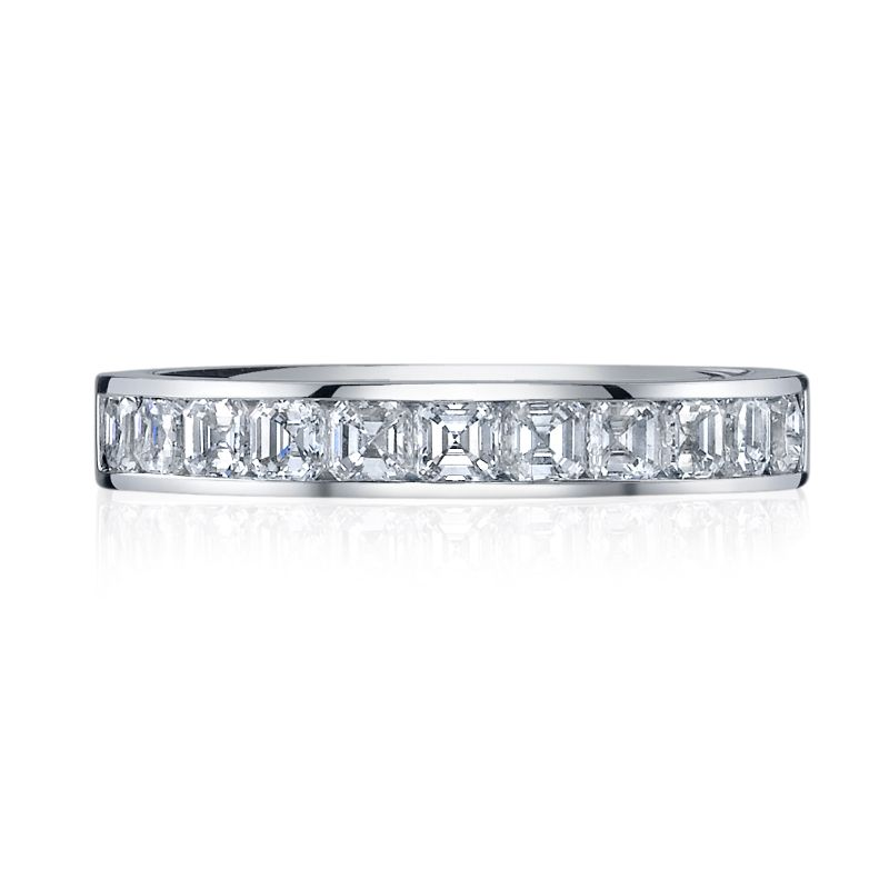Deutsch Signature Channel Set Asscher Band