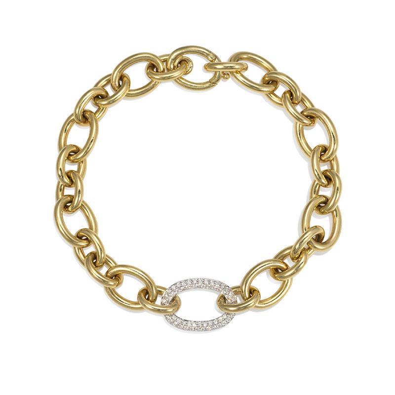 Rudolf Friedmann Gold Link Bracelet
