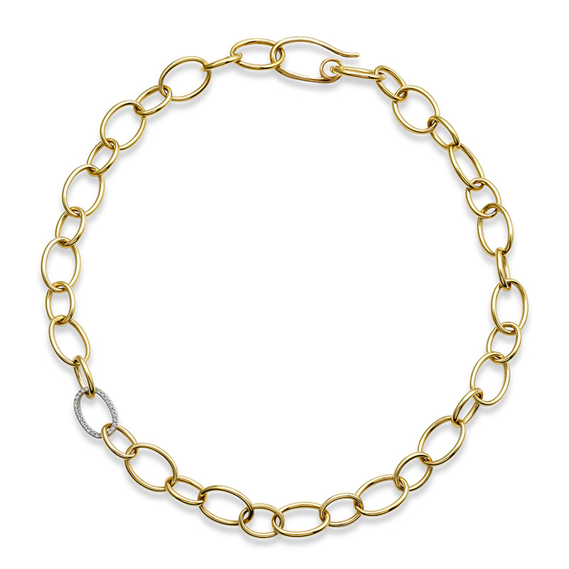 Rudolf Friedmann Gold Link Necklace