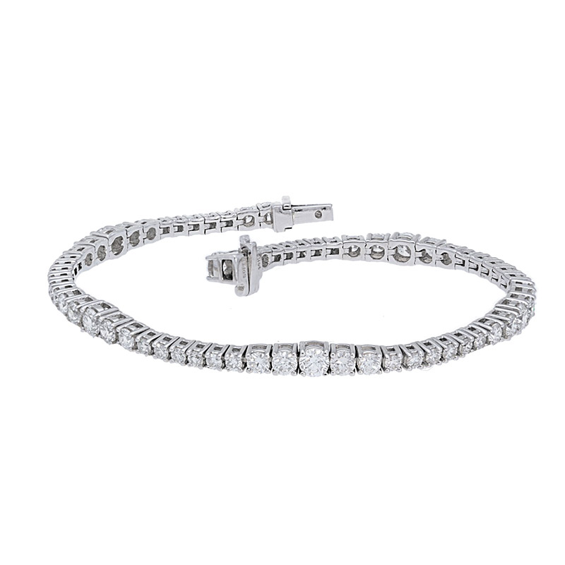 Deutsch Signature Graduating Diamond Tennis Bracelet