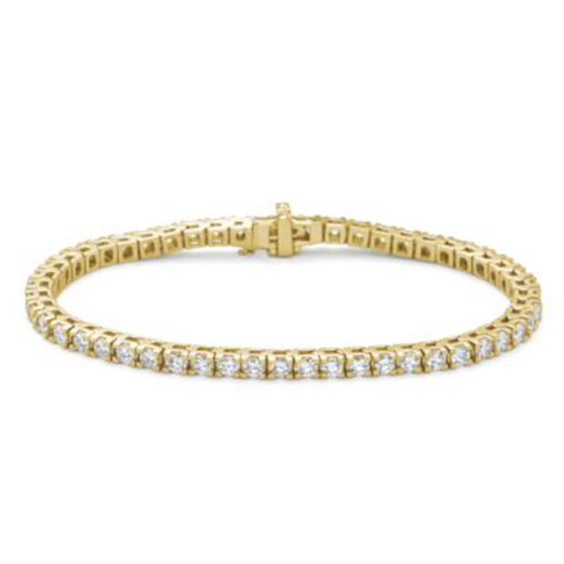 Deutsch Signature 4 Prong Diamond Tennis Bracelet