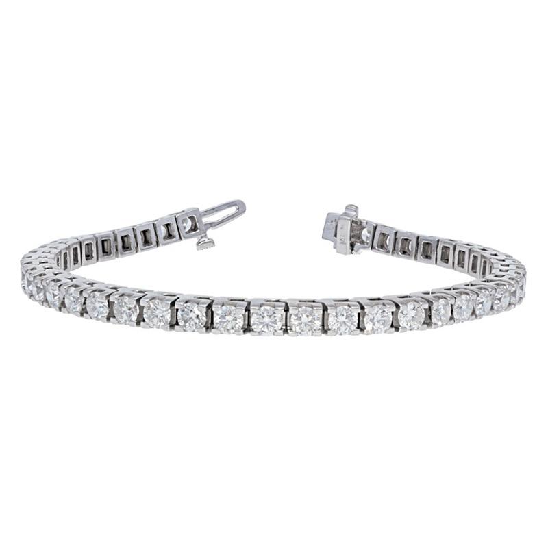 Deutsch Signature 4 Prong Diamond Tennis Bracelet