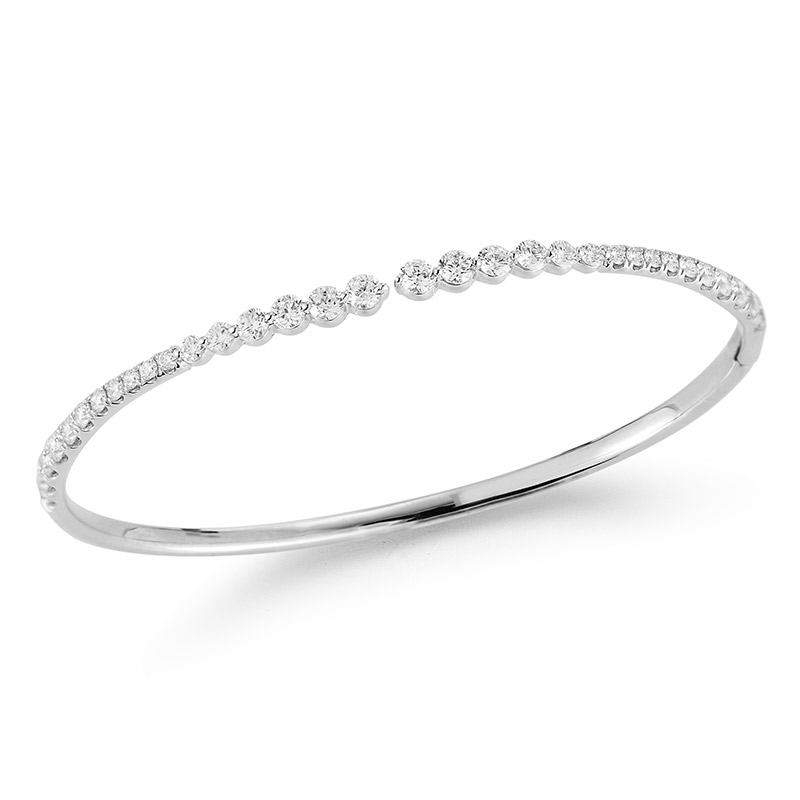Deutsch Signature Graduate Diamond Bangle