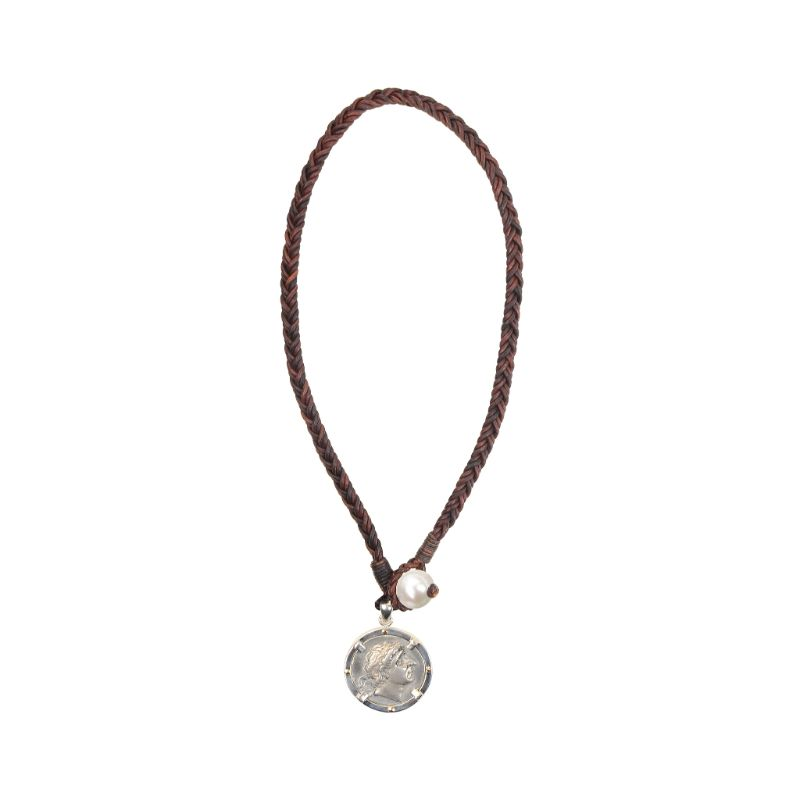 Vincent Peach Tribute Coin Necklace