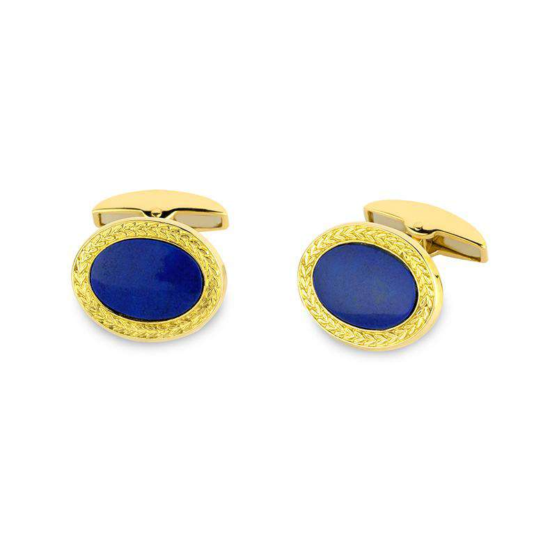 Deakin & Francis Gold Wreath Cufflinks