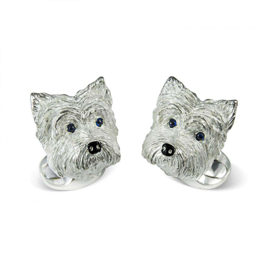 Deakin & Francis West Highland Terrier Dog Cufflinks