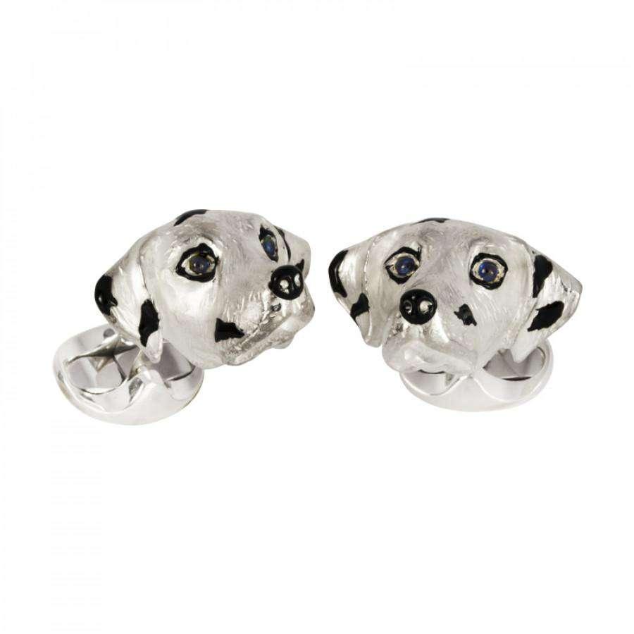 Deakin & Francis Dalmatian Dog Cufflinks
