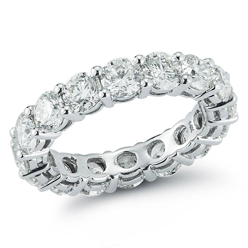 Deutsch Signature Eternity Shared Prong Diamond Ring