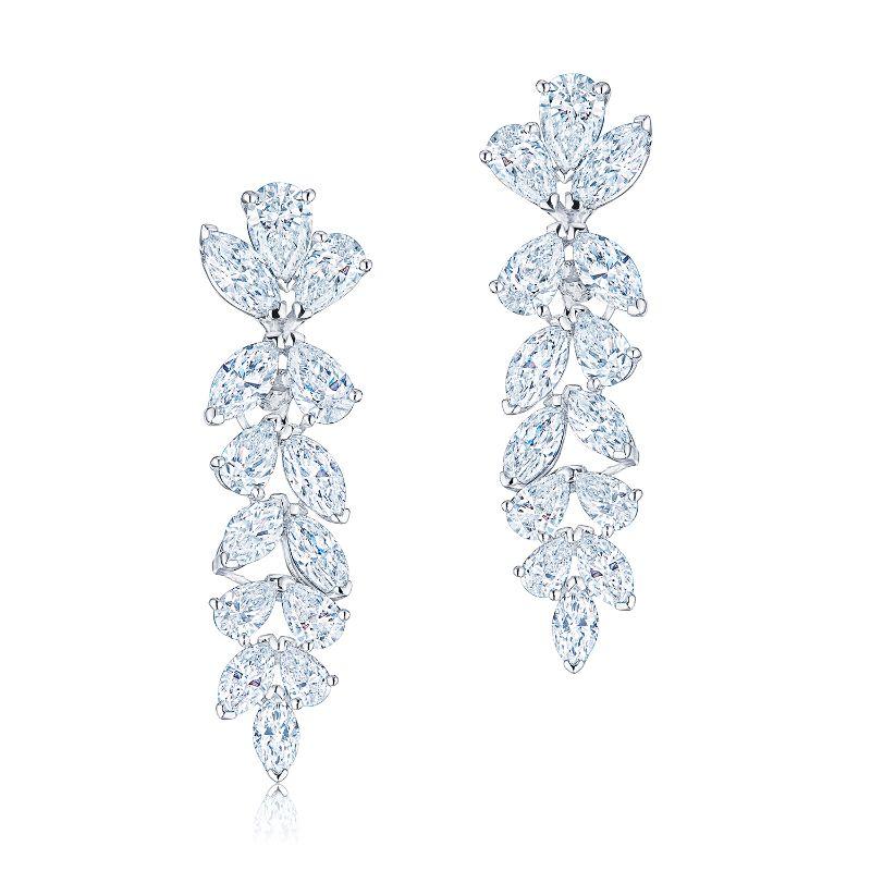 Kwiat Pendant American Beauty Diamond Earrings