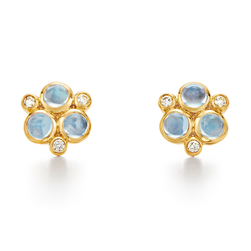 Temple St. Clair Classic Trio Earrings